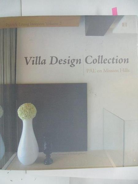 【書寶二手書T1/設計_DOS】Villa Design Collection
