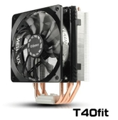 新竹【超人3C】保銳 T40-Fit 不干涉CPU風扇 ETS-T40F-TB