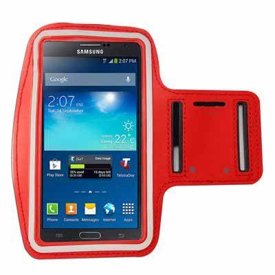 (超值必買)手機專用運動臂套(三星/小米/HTC/SONY 5.7吋以下手機通用) 紅