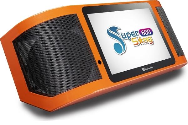 金嗓 Super Song 600 行動式多媒體伴唱機 (單機)