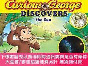二手書博民逛書店罕見原版 好奇猴科普故事:太陽英文原版Curious George DiscoY454646 111 Houg