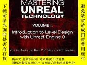 二手書博民逛書店Mastering罕見Unreal Technology, Volume IY256260 Jason Bus