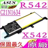ASUS 電池(原廠)-華碩 C21N1634,X542 電池,X542U,X542UQ,X542UR,X542UF,F542電池,F542U,F542UA,F542UQ