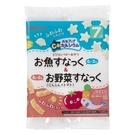 【愛吾兒】貝親 pigeon 小魚星形點心&紅蘿蔔蕃茄點心/餅乾-24g(6g*4袋)/7個月以上適用