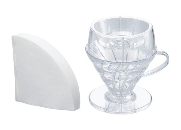 金時代書香咖啡 HARIO V60 Drip-Assist 分水器濾杯組 PDA-1524-T