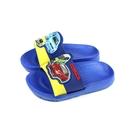 TOMICA 拖鞋 防水 童鞋 藍色 中童 童鞋 TM1841 no864