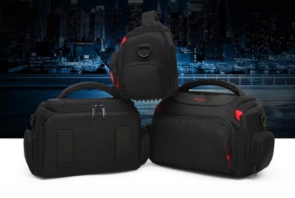 佳能相機包 單反單肩攝影包EOS800D200D二代 60D70D80D600D850D男 南風小鋪