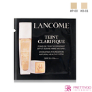 LANCOME 蘭蔻 超極光精華水粉底 SPF25/PA+++(1ml)#P-00【美麗購】
