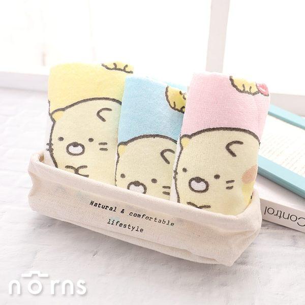 【角落生物純棉童巾】Norns SAN-X角落小夥伴 正版授權  吸水毛巾 卡通沐浴巾