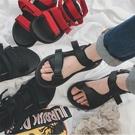 找到自己 MD 韓國 時尚休閒 潮 男 透氣 耐磨底 魔術貼涼鞋 男女情侶 涼鞋 拖鞋 海灘鞋