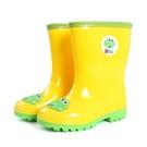 雨鞋 戶外游兒童雨鞋輕便舒適男童寶寶膠鞋雨靴時尚女童水鞋中筒 芊墨左岸