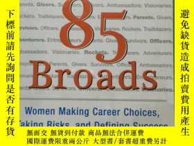 二手書博民逛書店more罕見than 85 broads28622 more t