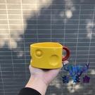 馬克杯家用陶瓷奶酪造型牛奶咖啡水杯【古怪舍】