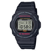 CASIO卡西歐 G-SHOCK 35周年復刻電子錶 DW-5750E-1DR / DW-5750E-1
