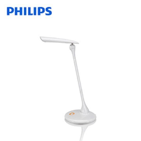 福利品【飛利浦 PHILIPS LIGHTING】穎光LED檯燈(白) 30671