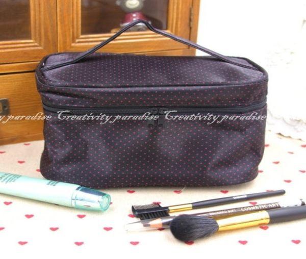 【手提化妝箱】時尚韓系保養品彩妝用具收納包 手拿包 化妝袋 洗漱包 化妝包