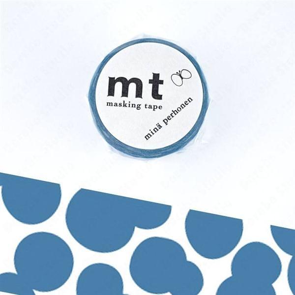 soda water・blue mt和紙膠帶【KAMOI mt】