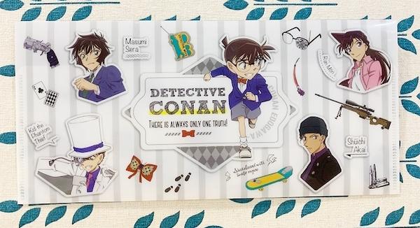 【震撼日式精品】名偵探柯南Detective Conan~文件夾/袋-滿版*53177