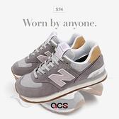 New Balance 復古休閒鞋 574 Tencel 女鞋 天絲 灰 運動鞋 NB【ACS】 WL574NA2B