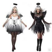 萬圣節 天使惡魔服裝角色扮演cosplay演出服裝【3C玩家】