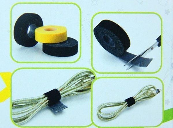 [協貿國際]  背靠背魔術貼綁線理線器粘扣帶 (3個價)