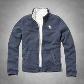 (BJGO) abercrombie kids_sherpa lined sweatshirt 帥氣羊絨內襯立領夾克/外套與美同步新品現貨XL號
