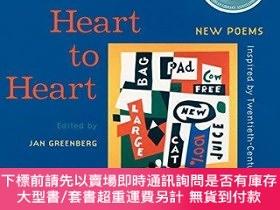 二手書博民逛書店Heart罕見to Heart: New Poems Inspired by 20th Century Ameri
