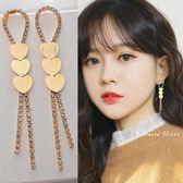 925純銀針  韓國優雅氣質  愛心耳環-維多利亞1810124