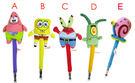 【卡漫城】 海綿寶寶 造型筆 任2隻 ㊣版 絨毛娃娃 公仔 原子筆 皮老闆 派大星 蟹老闆 小蝸 SpongeBob