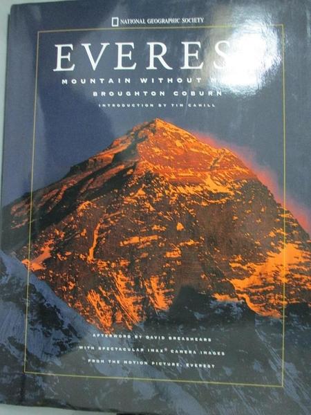 【書寶二手書T1/原文小說_XGW】Everest: Mountain Without Mercy_Coburn
