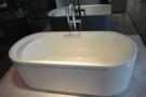 【麗室衛浴】美國 KOHLER Lovee™  獨立式鑄鐵浴缸 K-9287T-GR  尺寸:1700×750×567mm
