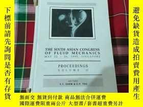 二手書博民逛書店THE罕見SIXTH ASIAN CONGRESS OF FLU