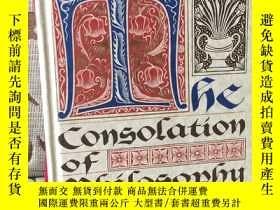 二手書博民逛書店Consolation罕見of Philosophy by Boethius -- 波伊提烏斯《哲學的慰籍》V.E