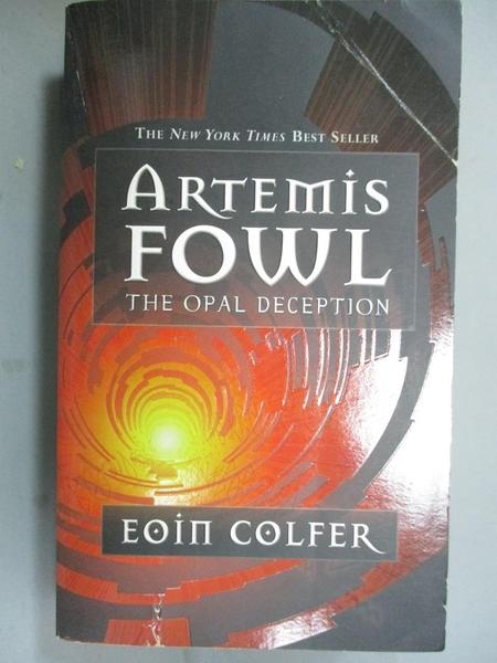 【書寶二手書T7/少年童書_GDF】Artemis Fowl: the Opal Deception_Colfer, E