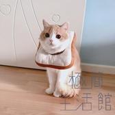 貓咪項圈寵物防舔絕育頭套恥辱防咬貓脖圈軟布【極簡生活】