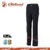【Wildland 荒野 女 彈性保暖休閒長褲《黑》】0A32303-54/吸濕排汗/透氣快乾/登山/旅遊/禦寒