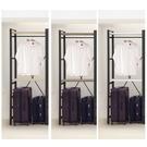 【DIY】輕工業風衣櫃-行李箱架-鐵架衣...