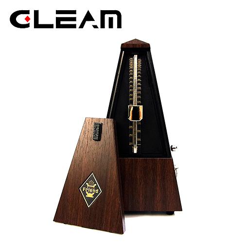 【敦煌樂器】Gleam GM-80 機械式節拍器 木紋款