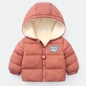 男童棉服 秋冬兒童加絨棉衣男童面包棉服女童棉襖兒童加厚外套【免運】