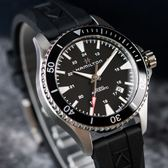 HAMILTON 漢米爾頓 KHAKI NAVY 海軍系列蛙人腕錶/黑 H82335331 熱賣中!