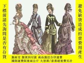 二手書博民逛書店80罕見Godey s Full-color Fashion Plates (1838-1880)Y25626