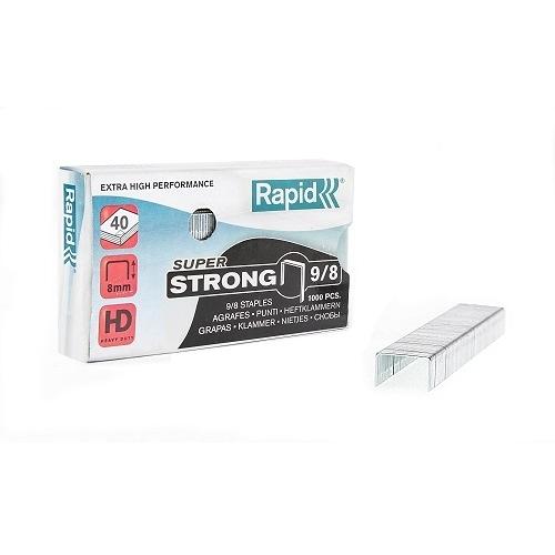 Rapid 9/8 超強力訂書針/釘書針1000入 X 10盒裝