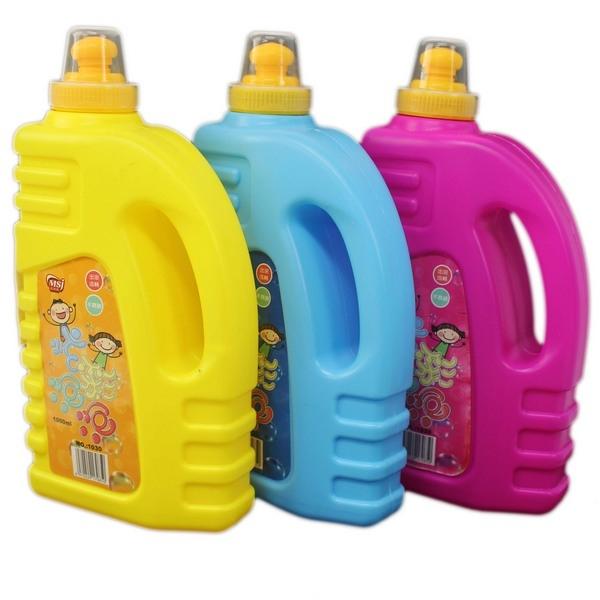 大 泡泡水補充液 1000ml NO-1030(扁罐)/一罐入(定120) 防倒出水口 泡泡槍補充液 補充液