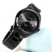 ALBA / VJ42-X250SD.AS9F81X1 / 雅痞時尚 藍寶石水晶玻璃 日期 不鏽鋼手錶 鍍黑色 42mm