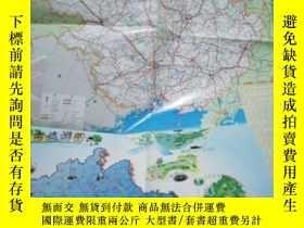 二手書博民逛書店罕見南寧市交通旅遊圖Y8891 湖南地圖出版社