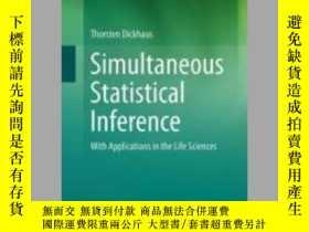 二手書博民逛書店Simultaneous罕見Statistical InferenceY405706 Thorsten Dic