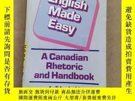 二手書博民逛書店English罕見Made Easy:A Canadian Rhetoric and Handbook(英文原版)
