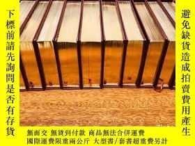 二手書博民逛書店The罕見Shakespeare Library 莎士比亞全集 ,口袋書 ,書口三面刷金(22k黃金)10冊。