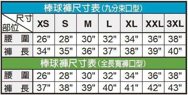 [陽光樂活=]MIZUNO 美津濃 棒壘褲(全長寬褲口型) 棒壘球褲 12TD4M3301 白