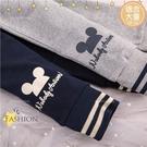(大童款)禦寒保暖~超厚棉外磨毛居家運動棉質束口長褲-2色(300902)【水娃娃時尚童裝】